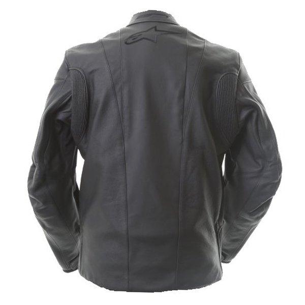 Alpinestars Sp Black Leather Motorcycle Jacket Black Side