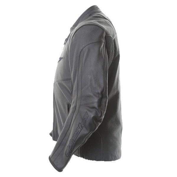 Alpinestars Sp Black Leather Motorcycle Jacket Black Back