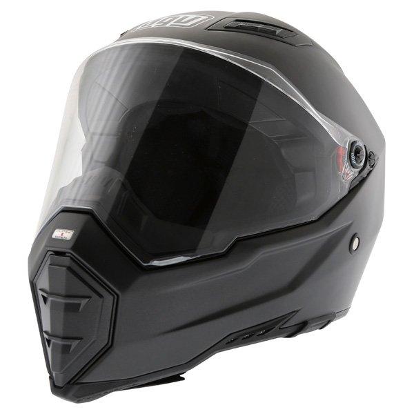 AGV AX8 Evo Naked Matt Black Helmet Front Left