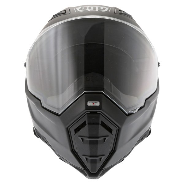 AGV AX8 Evo Naked Matt Black Helmet Front