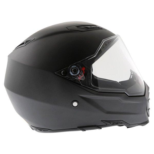 AGV AX8 Evo Naked Matt Black Helmet Right Side