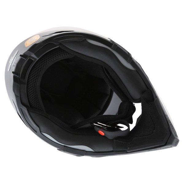 AGV AX8 Evo Naked Matt Black Helmet Inside