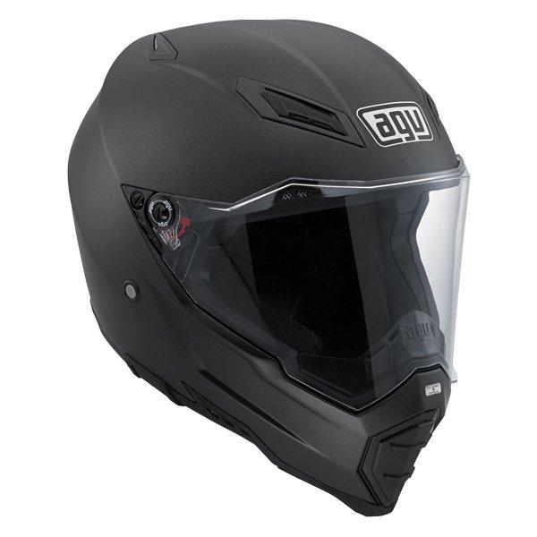 AGV AX8 Evo Naked Matt Black Helmet Front Right