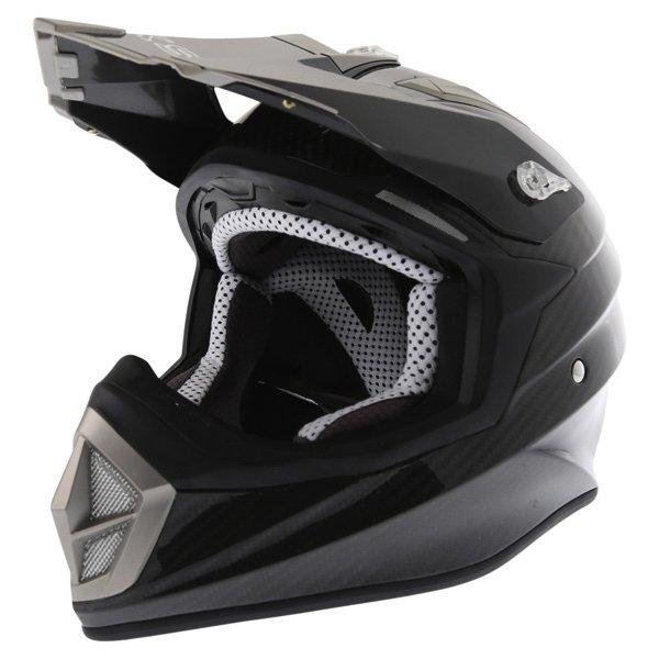 BKS Freestyle MX Carbon Helmet Front Left