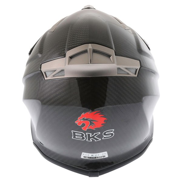 BKS Freestyle MX Carbon Helmet Back