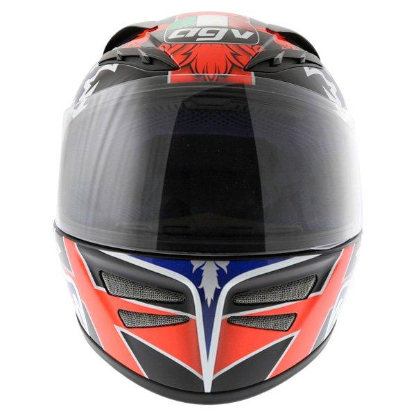 AGV Stealth St George Dark Helmet Front