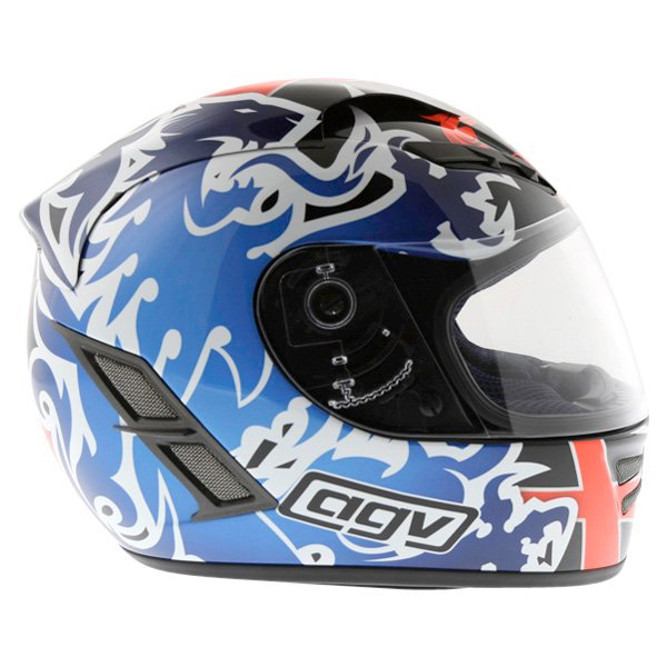 AGV Stealth St George Dark Helmet Right Side