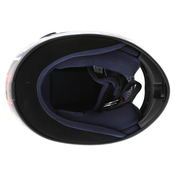 AGV Stealth St George Dark Helmet Inside