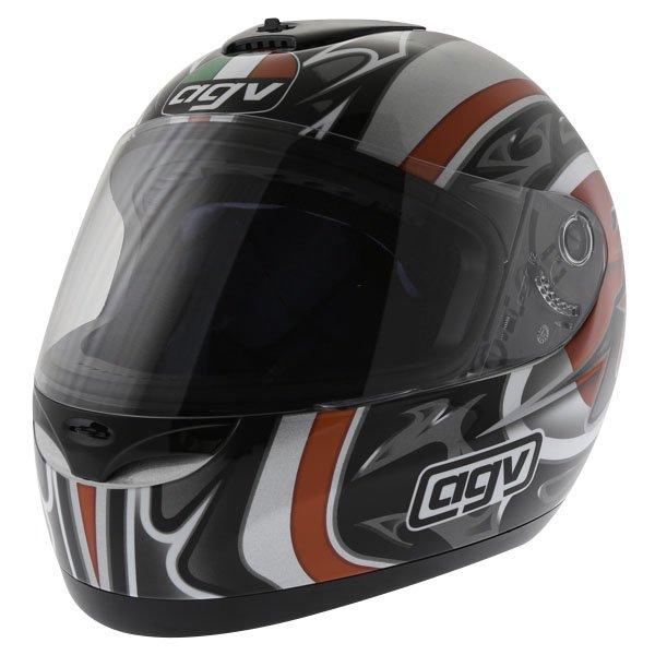 AGV K Series Orient Red Helmet Front Left