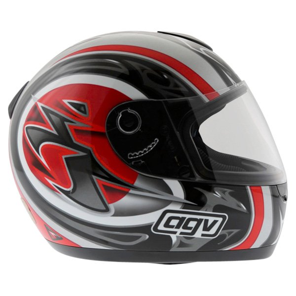 AGV K Series Orient Red Helmet Right Side