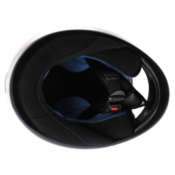 AGV K Series Orient Red Helmet Inside