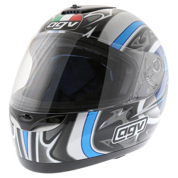 AGV K Series Orient Blue Helmet Front Left