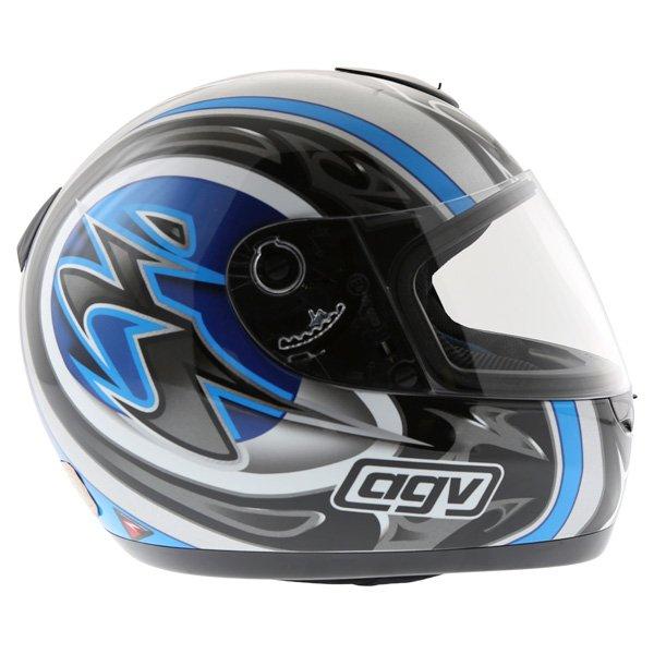 AGV K Series Orient Blue Helmet Right Side