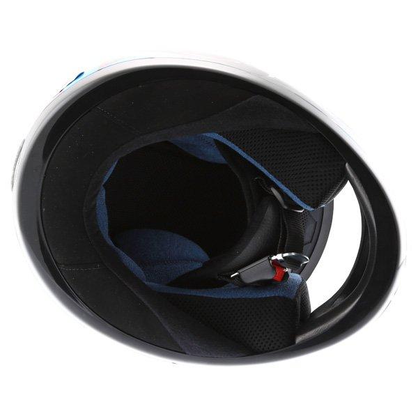 AGV K Series Orient Blue Helmet Inside