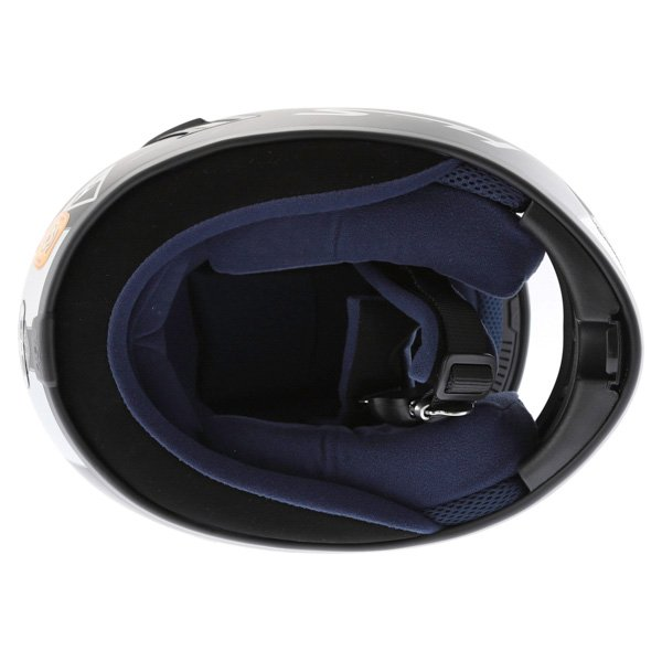 AGV S4 Matt Black Silver Helmet Inside