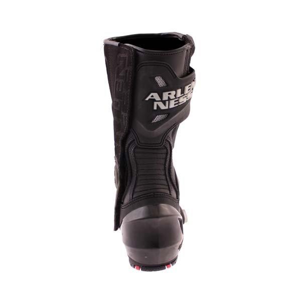Arlen Ness M101 Black Motorcycle Boots Heel