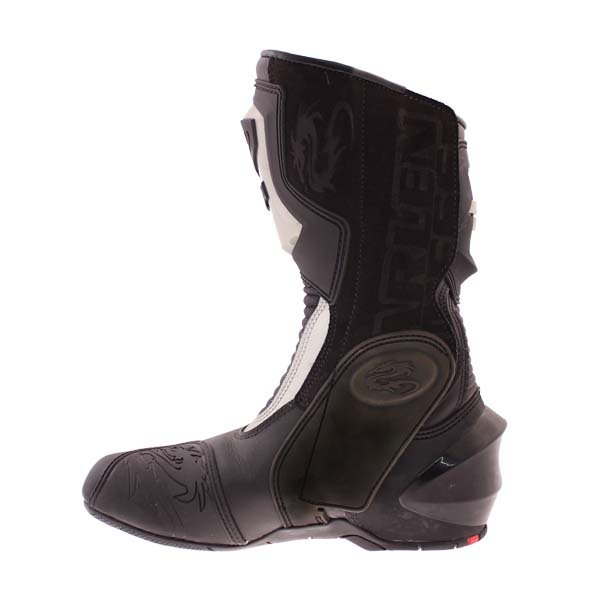 Arlen Ness M101 Black Motorcycle Boots Inside leg