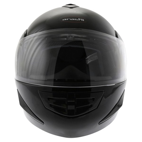 Arashi AH4192 888 Black Helmet Front