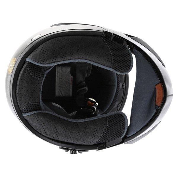Arashi AH4192 888 Black Helmet Inside