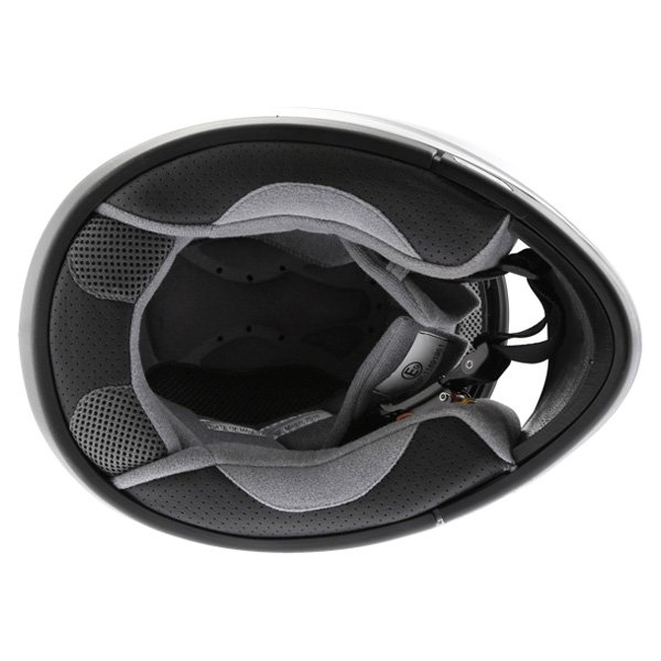 Arashi AH4180 Steel 2 Silver Helmet Inside