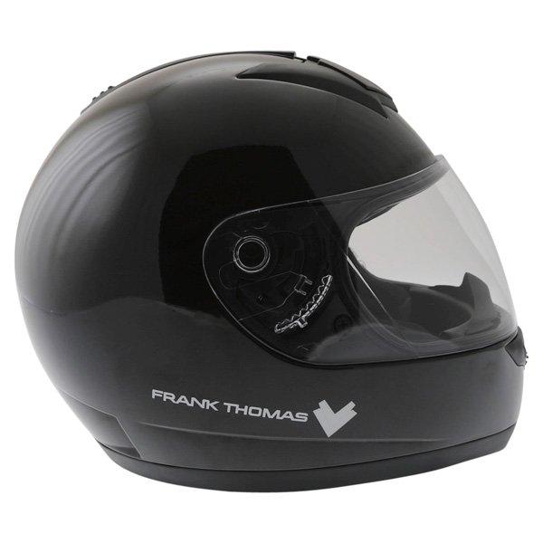 Frank Thomas DV31 Full Face Black Helmet Right Side