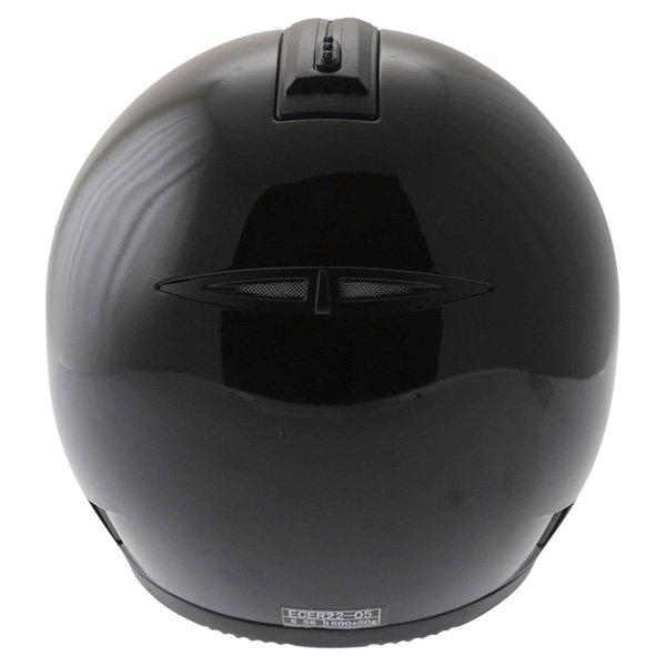 Frank Thomas DV31 Full Face Black Helmet Back
