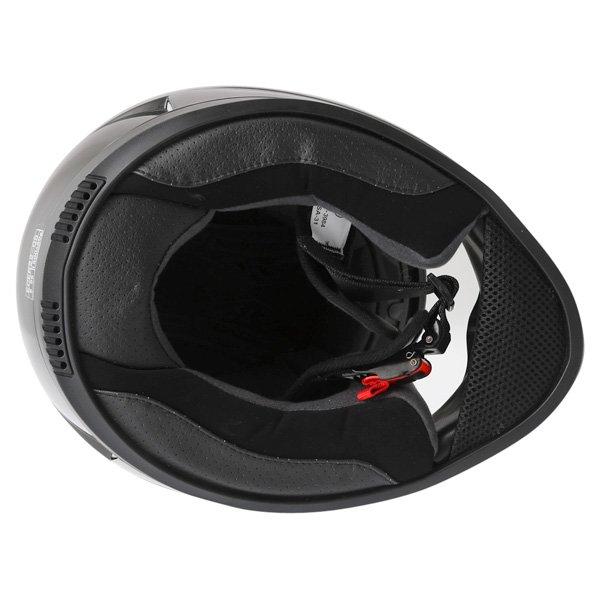 Frank Thomas DV31 Full Face Black Helmet Inside