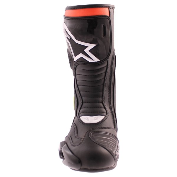 Alpinestars S-MX 5 Waterproof Black Red Yellow Motorcycle Boots Front