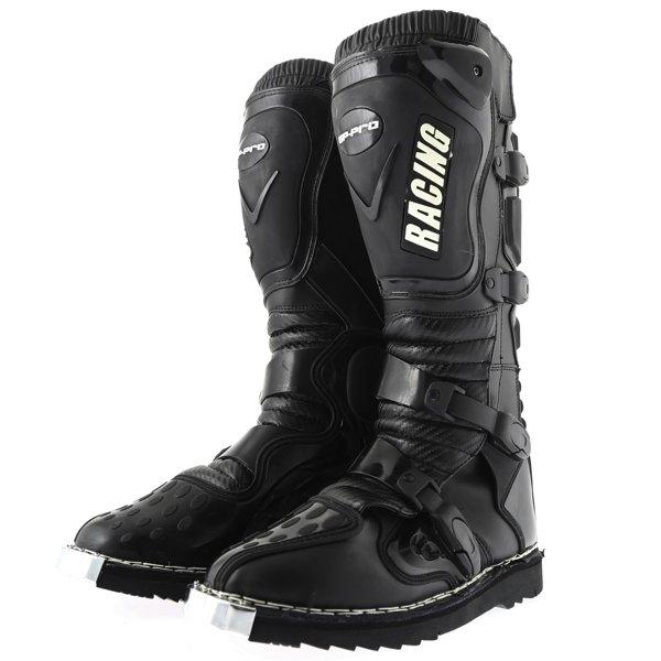 Mx Boots Black Motocross Boots