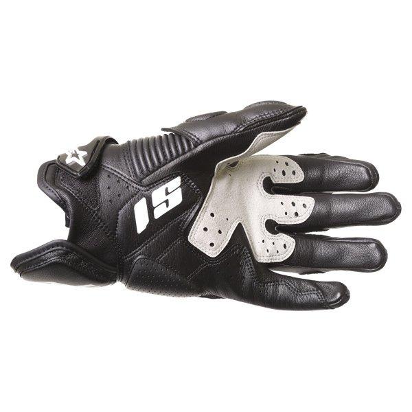 Alpinestars S-1 Black White Motorcycle Gloves Palm