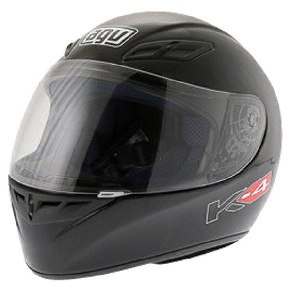 AGV K4 Black Helmet Front Left