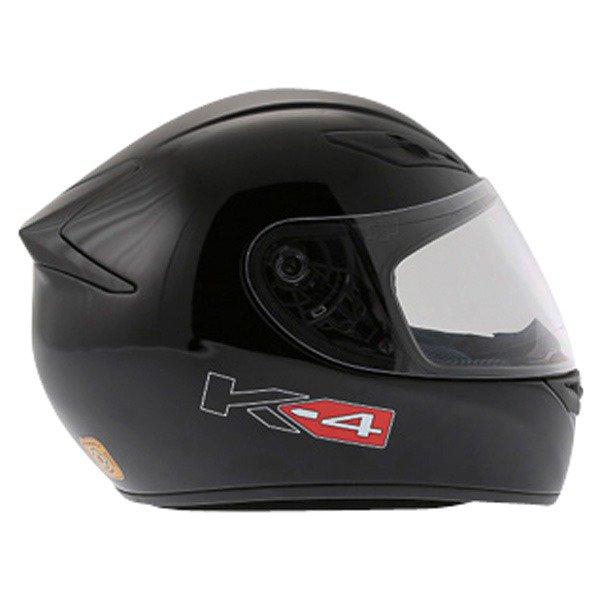AGV K4 Black Helmet Right Side