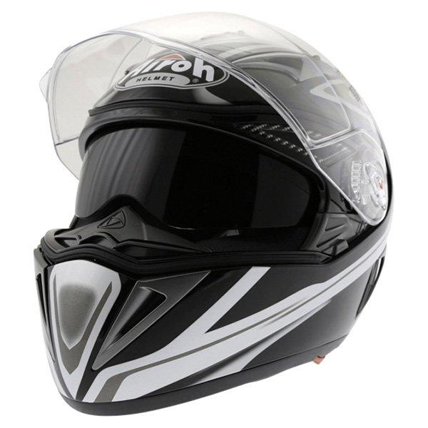 Airoh Force XR300 Helmet  Open With Sun Visor