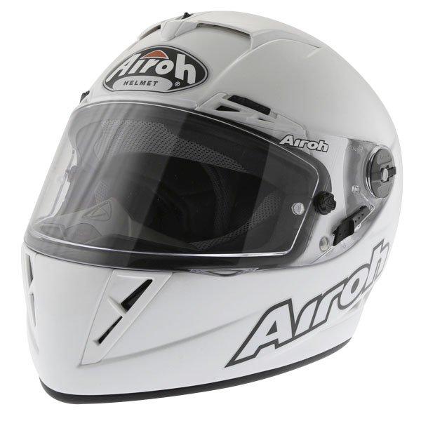 Airoh GP Color White Helmet Front Left