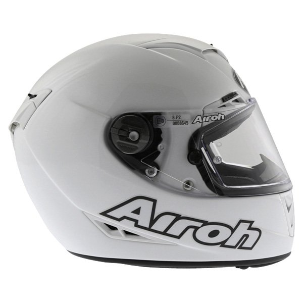 Airoh GP Color White Helmet Right Side