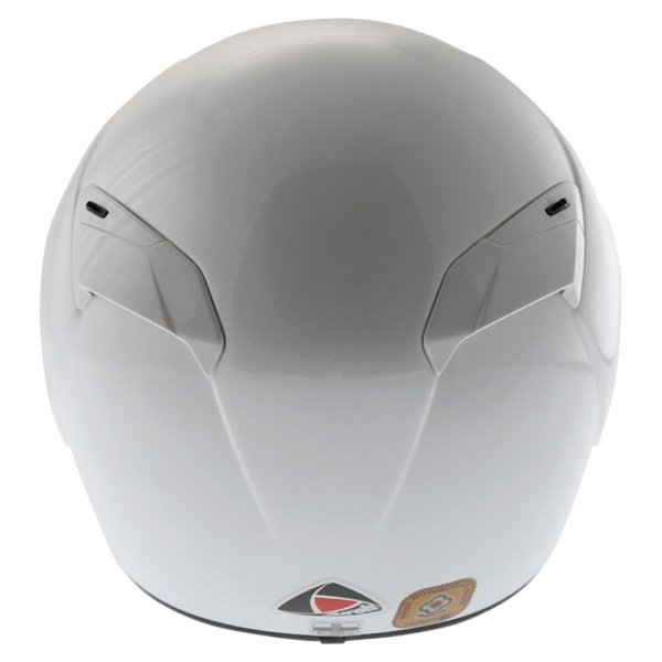 Airoh GP Color White Helmet Back