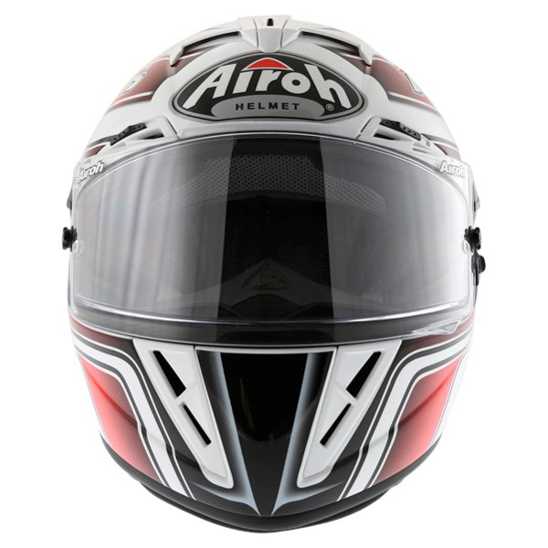 Airoh GP Run Red Helmet Front