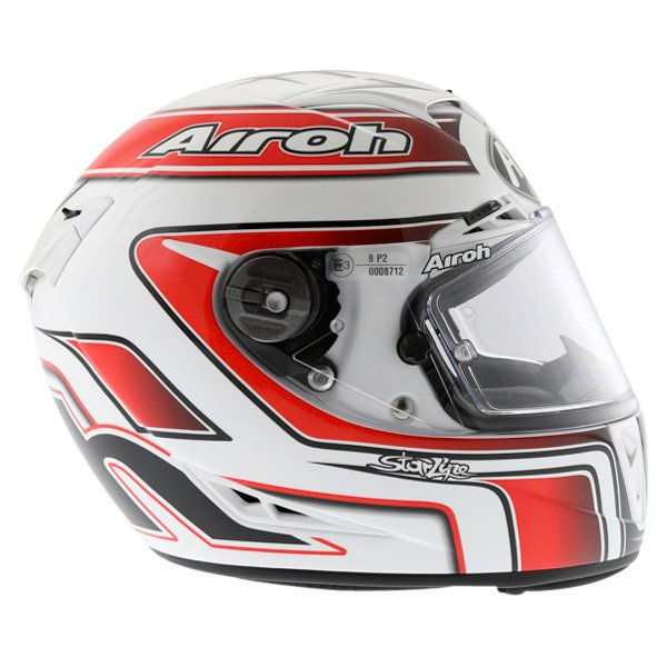 Airoh GP Run Red Helmet Right Side