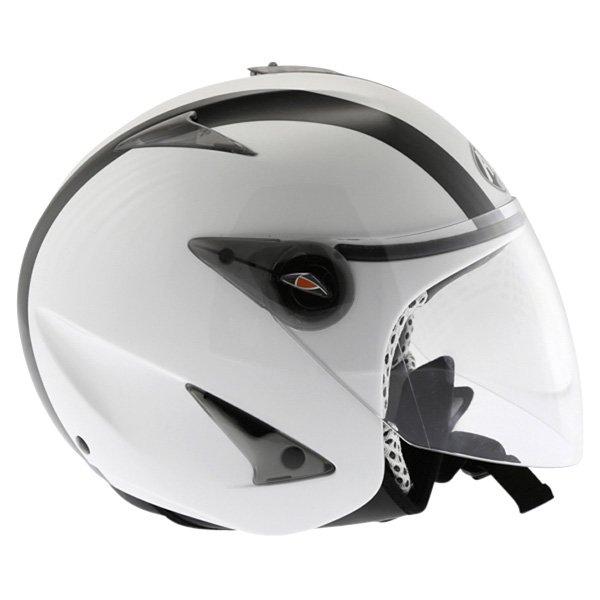 Airoh JT Bicolor White Black Helmet Right Side