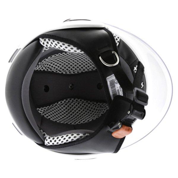 Airoh JT Bicolor White Black Helmet Inside