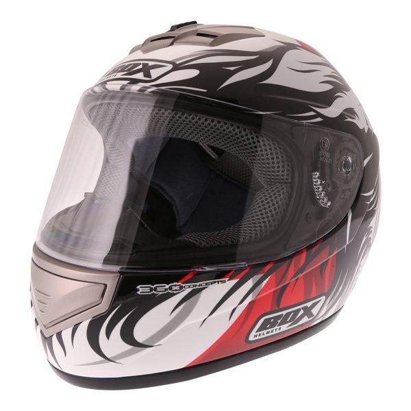 Box BX-1 Red Lion Helmet Front Left