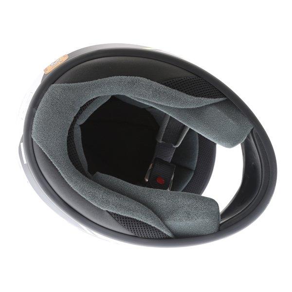 Arai Axces III Sense Flo Yellow Full Face Motorcycle Helmet Inside