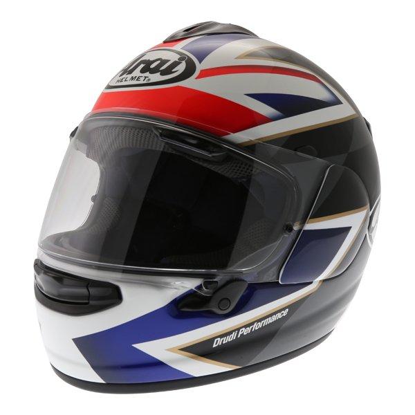 Arai Chaser-X League UK Full Face Motorcycle Helmet Front Left