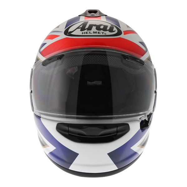 Arai Chaser-X League UK Full Face Motorcycle Helmet Front