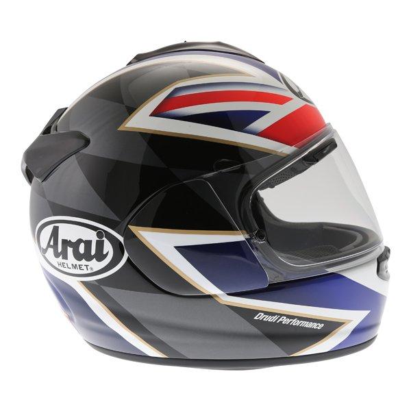 Arai Chaser-X League UK Full Face Motorcycle Helmet Right Side