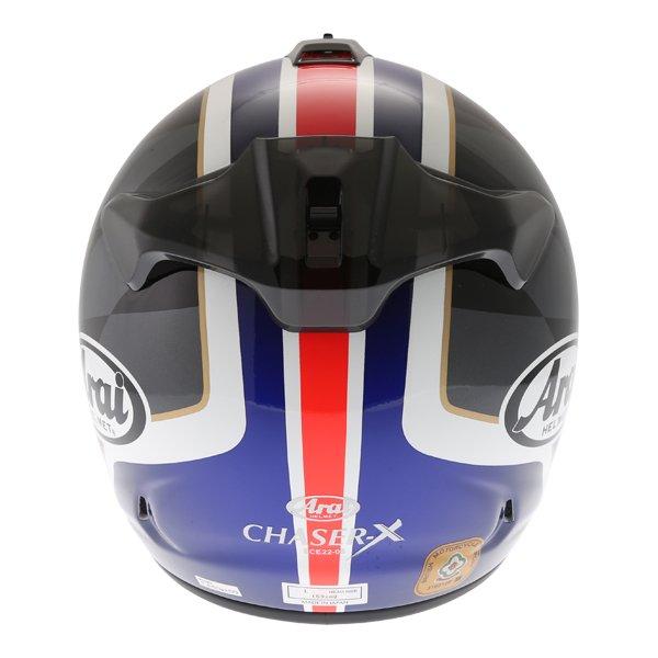Arai Chaser-X League UK Full Face Motorcycle Helmet Back