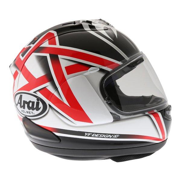 Arai RX-7V Nakano Full Face Motorcycle Helmet Right Side