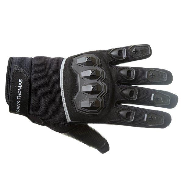 FT88 Ridding Gloves Black Motorcycle Gloves