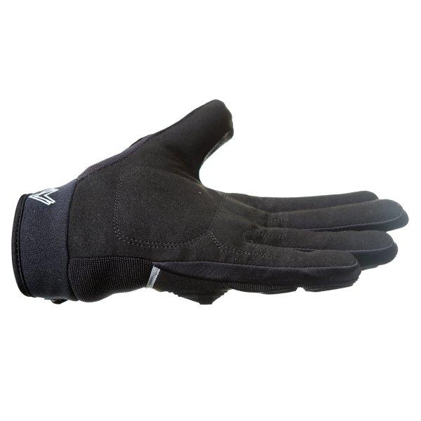 Frank Thomas Ridding Black Motorcycle Gloves Little finger side
