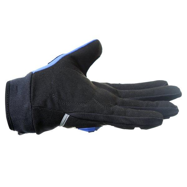 Frank Thomas FT88 Ridding Black and Blue Gloves Little finger side